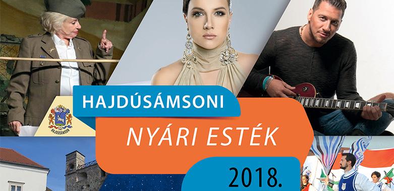 Programok – Hajdúsámsoni Nyári Esték – 2018
