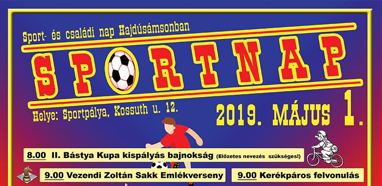 Sportnap Május 1.