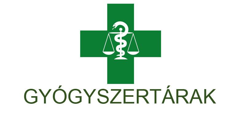 Gyógyszertáraink nyitvatartása